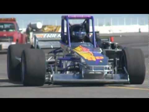 Jarett Andretti Oswego Speedway Supermodified Test - Sunday May 6, 2012