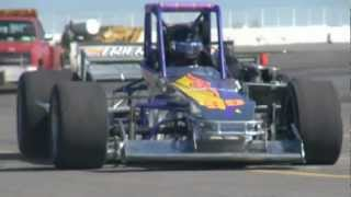 Jarett Andretti Oswego Speedway Supermodified Test - Sunday May 6, 2012