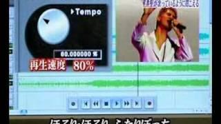 一青窈的歌再生速度改成80%會變平井堅喔XDDD.