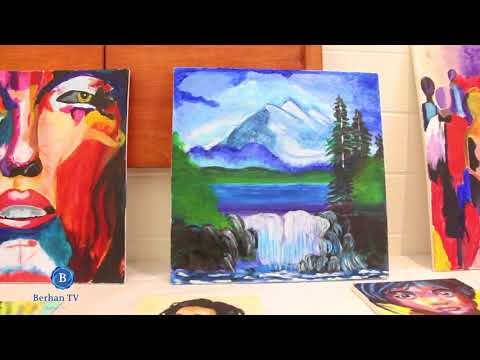Art show mississauga by Abel Mekonen ##Berhan TV