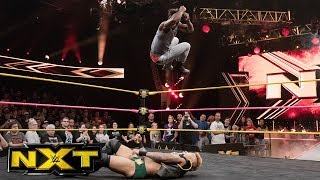Velveteen Dream tries to get Aleister Black's attention by ambushing Lio Rush: WWE NXT, Oct. 4, 2017