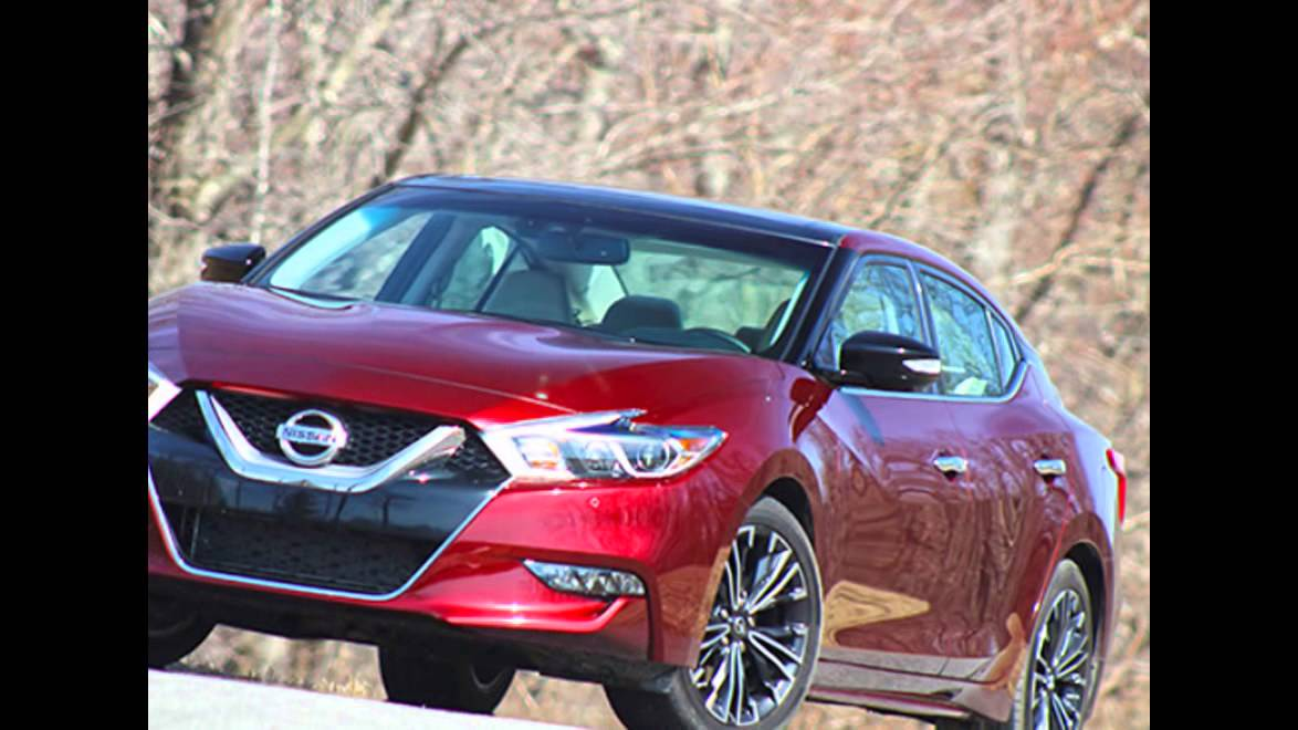 2016 2017 Nissan Maxima First Drive Revuews Release Date Road Test