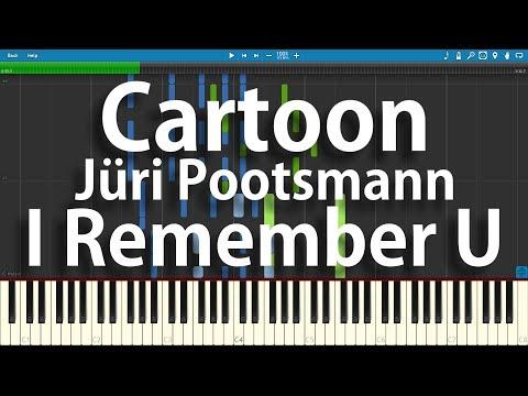 Cartoon ft. Jüri Pootsmann - I Remember U | Synthesia Piano Cover