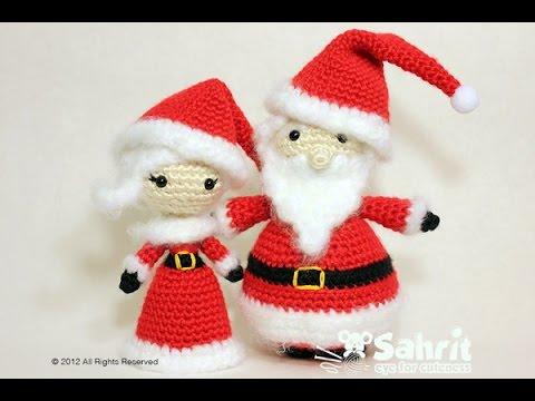 Christmas Special Crochet Santa Claus Designs