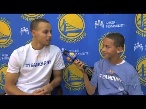Kid Warrior Stephen Curry Interview