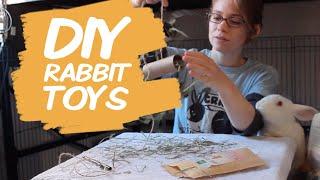Easy DIY Rabbit Chew Toys
