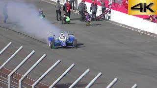 2017.12.3 インディ500で優勝した時に使用していたシャシー・エンジンそ...