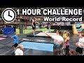 1 hour challenge i sträck på studsmatta *GÅR DET!?*