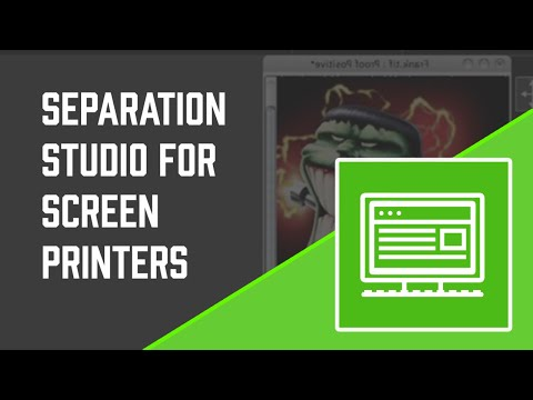 Separation Studio Color Separation Software for Screen Printing