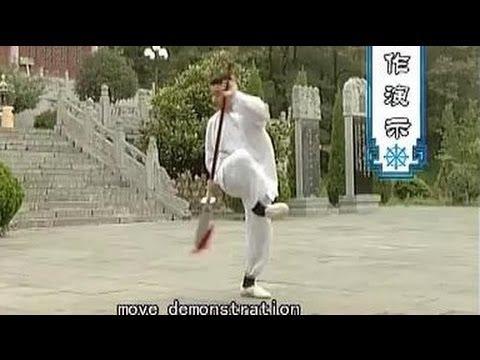 Shaolin kung fu big saber (b)