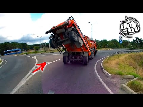 How not to drive your car/Car fails #1 September 2020/Idiot drivers