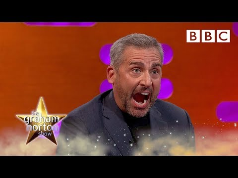 Steve Carell meets an army of Steve Carell dolls - BBC