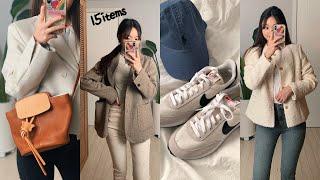 봄 패션하울 2탄! 쇼핑몰 제품들15items 가방/운…