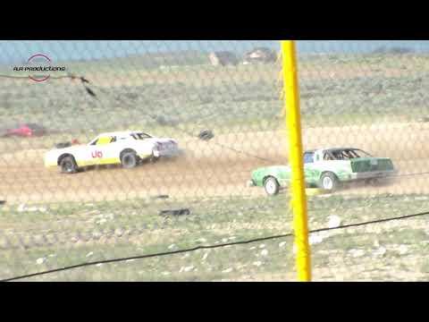 Wild Bill's Raceway Bomber Heat Race 6/11/16