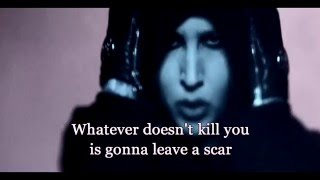 Marilyn Manson - Leave A Scar lyrics