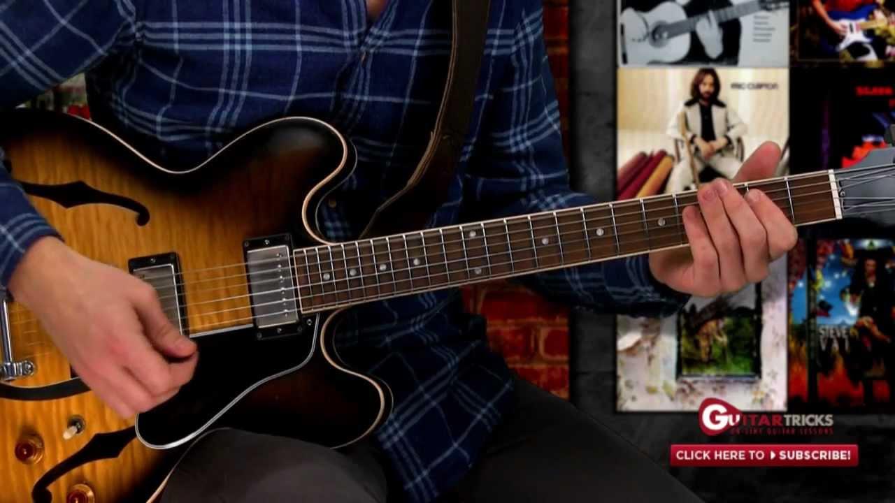 Blues Guitar Lesson Classic Blues Riff Beginner Lesson Guitar
