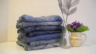 видео Лоскутное покрывало из старых джинсов своими руками