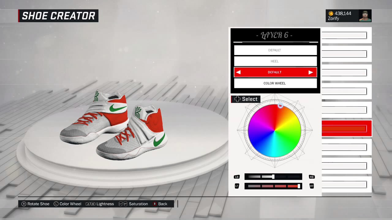 outlet store aad37 be441 NBA 2K17 Shoe Creator - Nike Kyrie 2