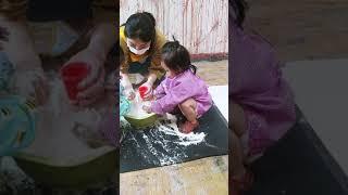 미술놀이 유아발달 오감체험