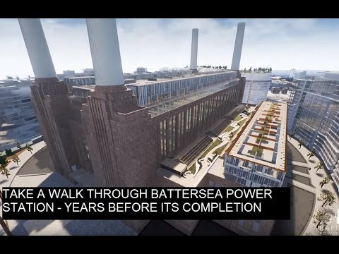 Battersea Power Station Creates New 3D Immersive Technology
