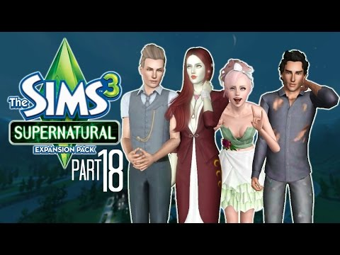 Let's Play: The Sims 3 Supernatural | Part 18 | Horror House