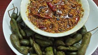 Kachi imli ka achar recipe  Instant Raw tamarind pickle recipe
