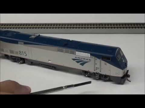 Review: Athearn P40DC Amtrak in HO Scale