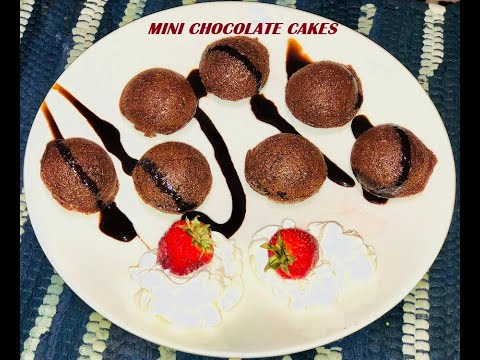 Eggless Mini Chocolate Cake Recipe Without Oven | Chocolate Cake in Appam Pan By Shimi's Dastarkhaan