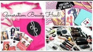 What's In My Generation Beauty Bag? Day 1 - Belinda Selene