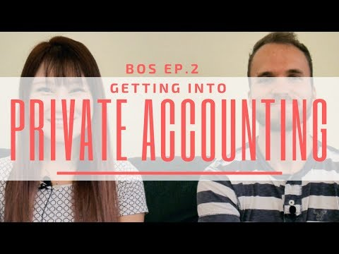 public or private accounting