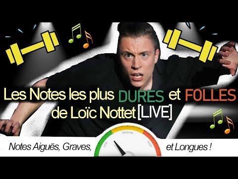 Les notes les plus DURES et FOLLES de Loïc Nottet en [LIVE]: Notes aiguës, graves, et longues ! BEST