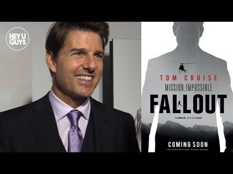 Mission Impossible Fallout Premiere - Tom Cruise, Henry Cavill, Rebecca Ferguson