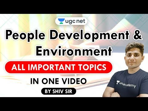 Excel Up for Last-Minute Revision of People Environment For NET / JRF Exam 2020 | Shiv Kumar Meena