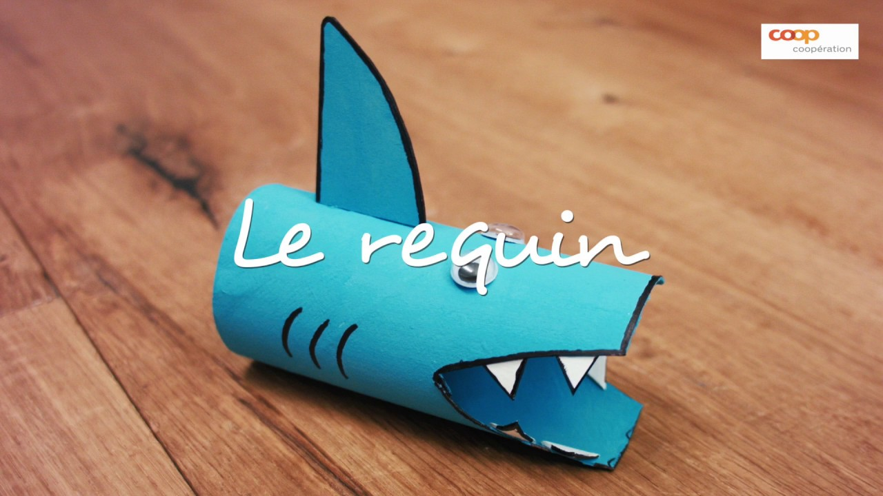 bricolage le requin youtube. Black Bedroom Furniture Sets. Home Design Ideas