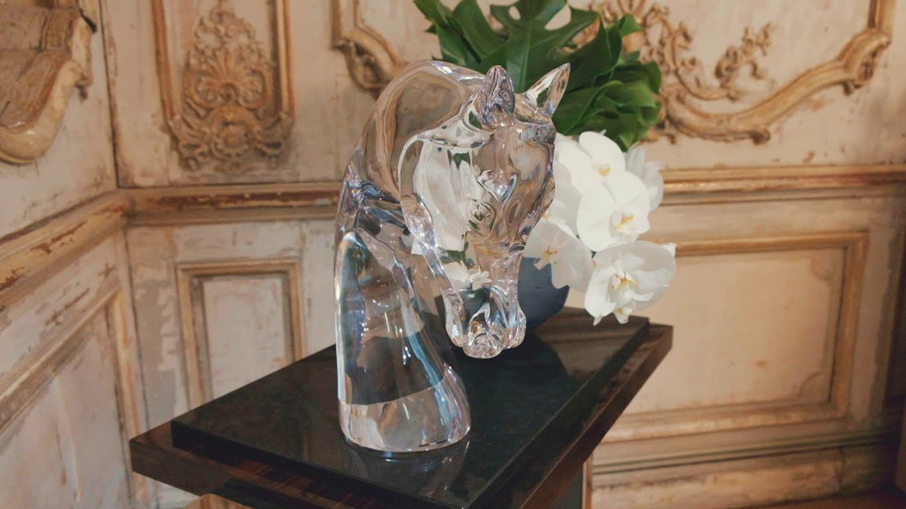 2020 Lalique collections presentation at Éléphant Paname, Paris.