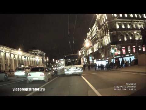 Видеорегистратор ACV GQ15 Пример видео день/ночь 1080p