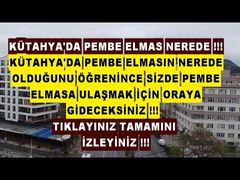 KÜTAHYA'DA PEMBE ELMAS GEÇİM KAYNAĞI OLDU KÜTAHYA'DA PEMBE ELMAS NEREDE BİR BİLSENİZ !!!
