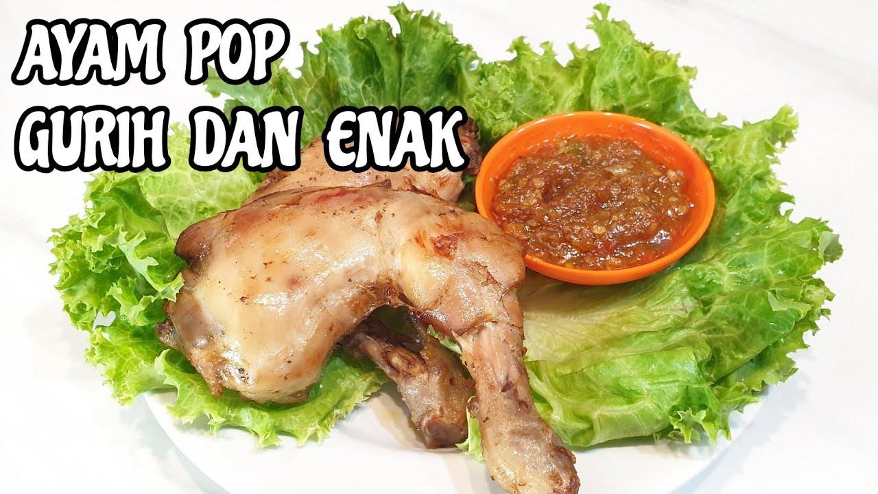 Resep Ayam Pop Youtube