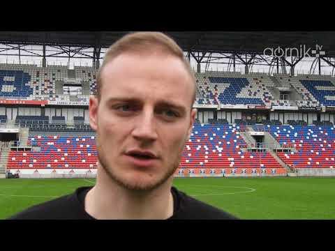 Wojciech Pawłowski o meczu sparingowym z MFK Zemplín Michalovce