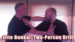 Practical Kata Bunkai: two-person drill for the bunkai of Jitte kata