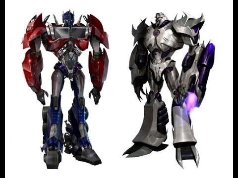 Rise youtube - Transformers cartoon optimus prime vs megatron ...