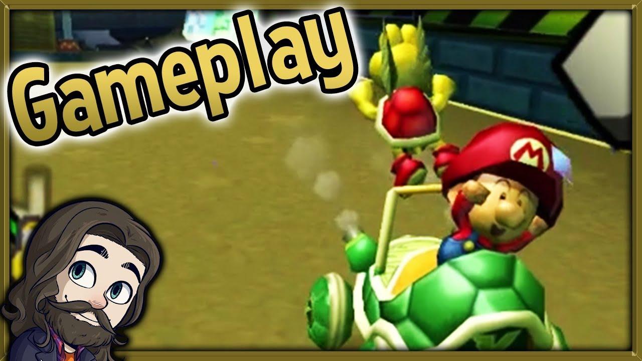 Mario Kart Double Dash Online Multiplayer Gameplay Youtube