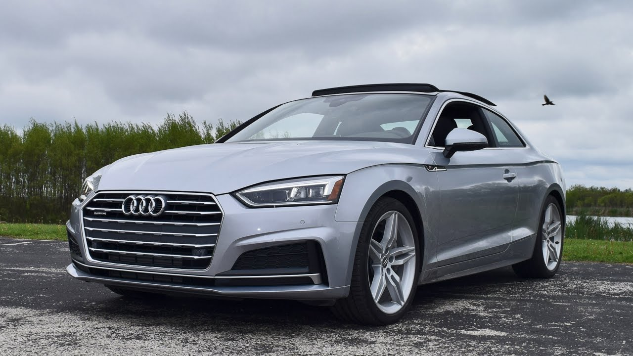 2018 Audi A5 20t S Line Quattro Rainy Performance Drive Review
