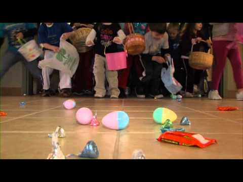 Easter Egg Hunt at Kennebunk Elementary School