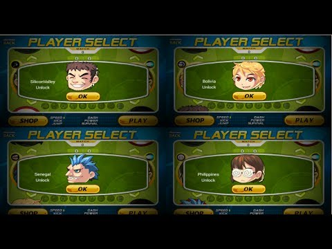 Head Soccer NEW PLAYERS GamePlay - SiliconValley, Bolivia, Senegal, Philippines REVIEW
