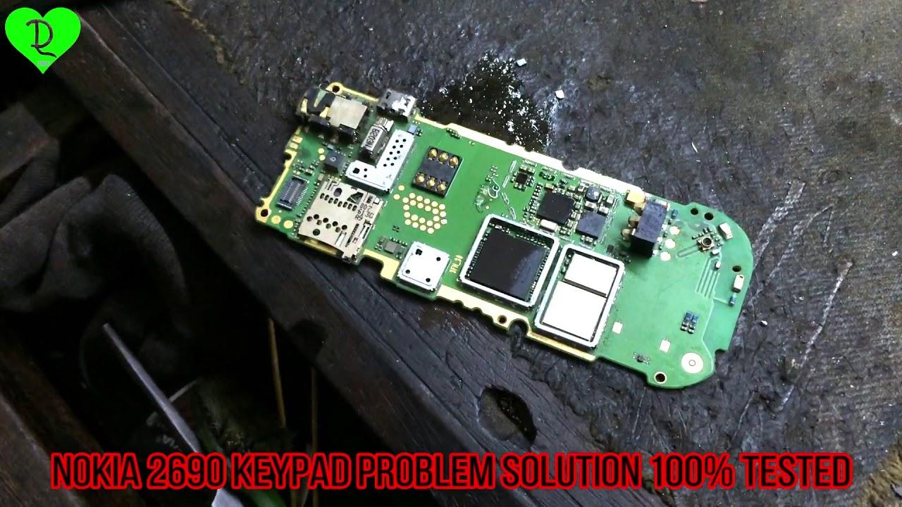 Nokia 2690 keypad solution