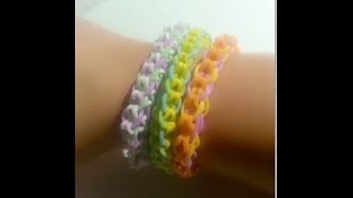Loom Bands NL Inverted Candy Cane