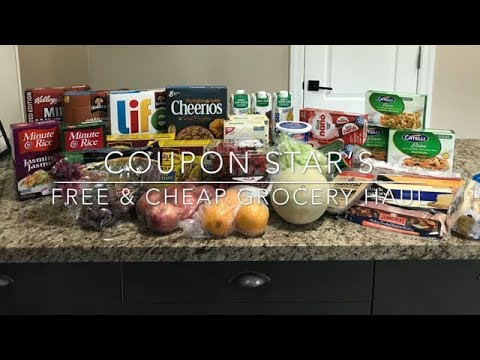 FREE & CHEAP GROCERY HAUL – Sept 27th 2018 – COUPON STAR