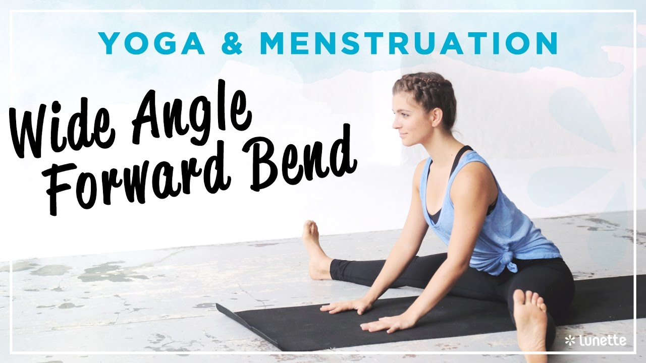 50 Yoga Poses to Help Ease Menstrual Pain – Lunette Menstrual Cup
