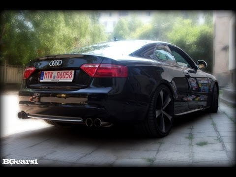 Audi S W Custom Exhausts YouTube - Audi s5 custom